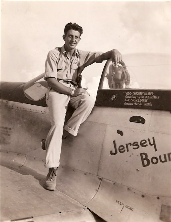 """Jersey Bounce"" with Lt. Maxamilian Ulmer - P-51D fighter plane"